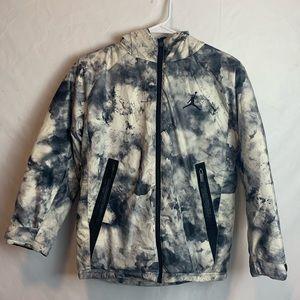 Air Jordan Kids Boys Puffer Hooded Coat Jacket